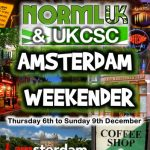 Roll up, Roll up; NORML UK and UKCSC are heading to Amsterdam