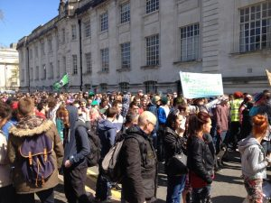 Cardiff Marijuana March, May 4th, 2013.