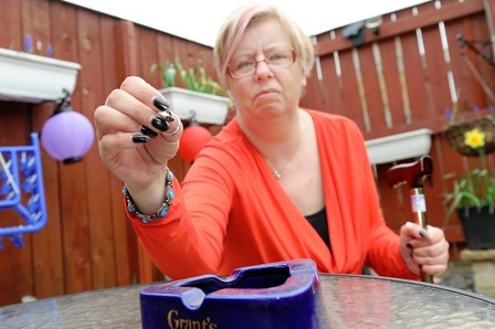 MS patient Susan Lunn says she will continue to use cannabis to alleviate the symptoms of her illness.