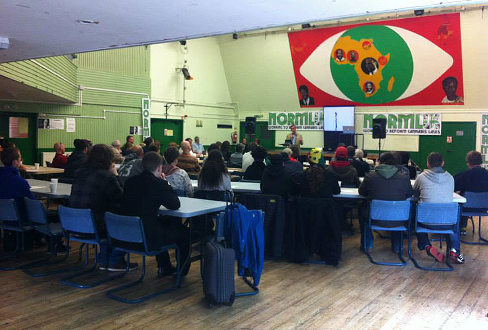 Tom Lloyd, former Chief Constable of Cambridgeshire speaks at the NORML UK conference.