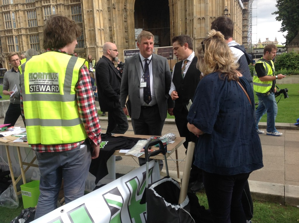 Our Political Lobbying Director lobbies Oliver Colville MP