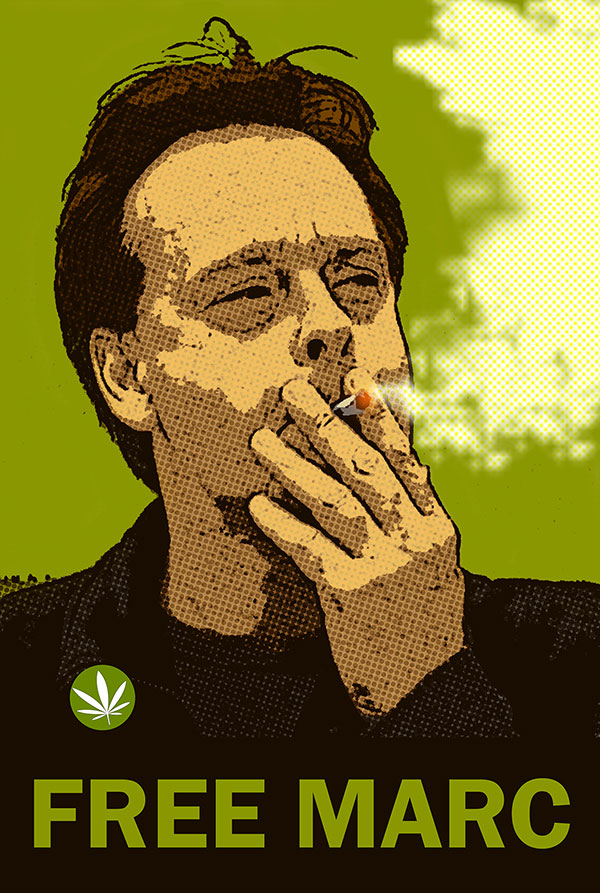 Free Canadian cannabis seeds seller, Marc Emery.