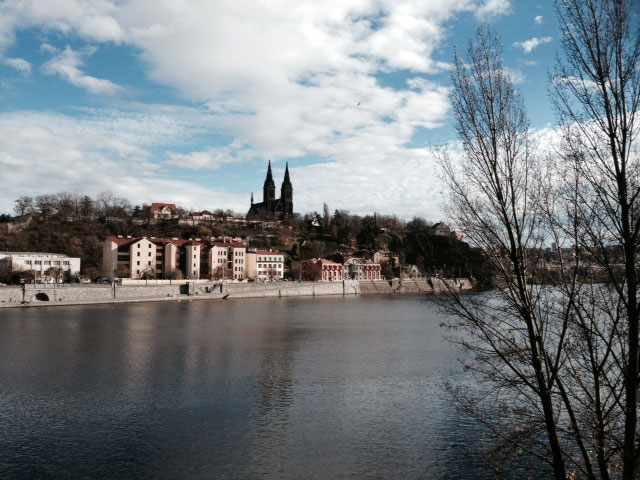 Cannafest 2013: Vltava River in Prague.