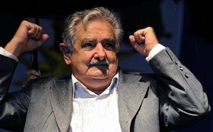 President Jose Mujica of Uruguay, the first country to legalise cannabis