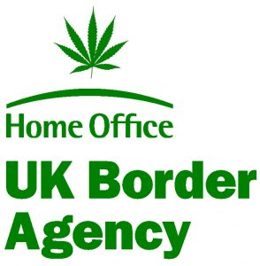 UK Border Agency: do not arrest people for small quantities of cannabis.