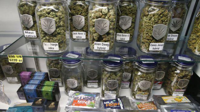 Legal cannabis, Colorado, USA.