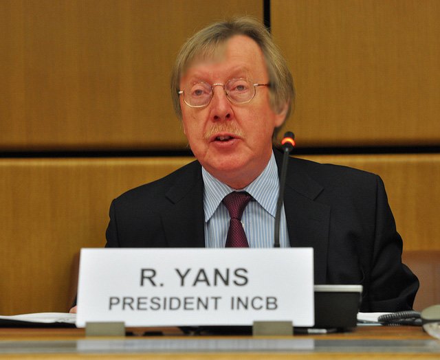International Narcotics Control Board and Raymond Yans