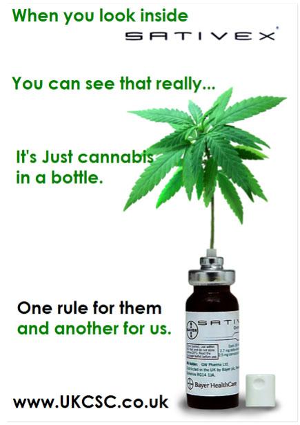 Sativex herbal cannabis tincture.