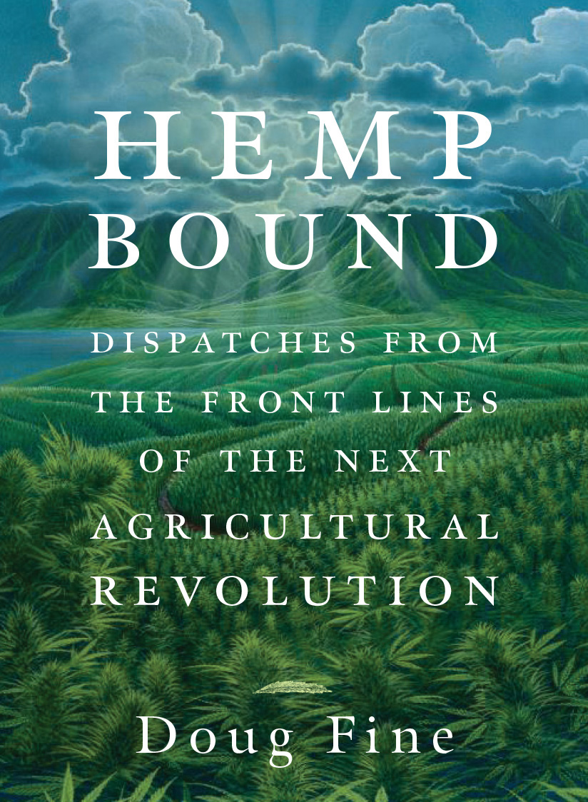 Book cover of Doug Fine's book Hemp Bound