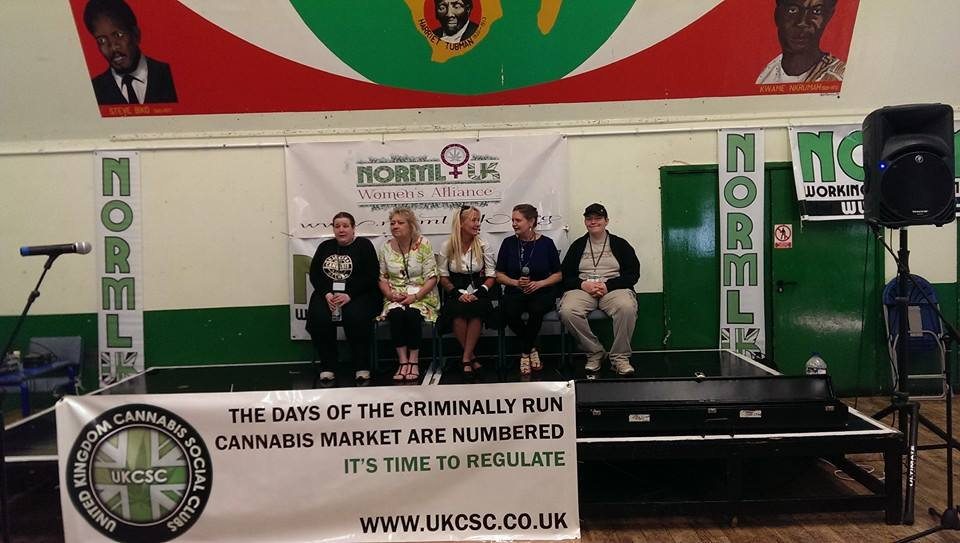 NORML UK Women´s Alliance Launch, June 1st 2014