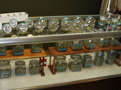 Cannabis dispensary in Coloarado