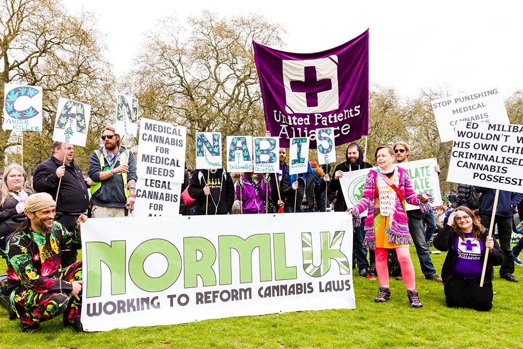 Hyde Park Cannabis Rally 19.04.2015