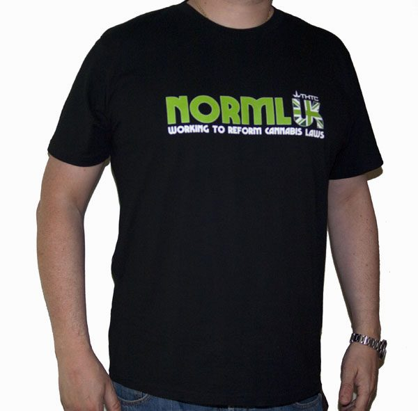 NORML UK - T-Shirt Organic Cotton