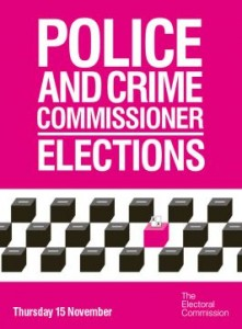 Police and crime commissioner elections