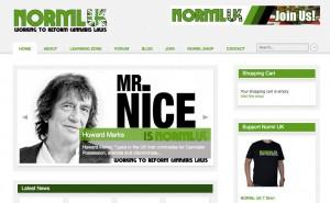 NORML UK's cannabis web site