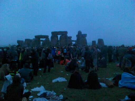 Police wasting tax payers money using sniffers dogs looking for cannabis at Stonehenge summer solstice celebrations.