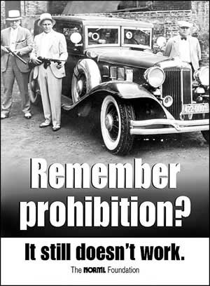 Remember prohibition? It still doesn't work.