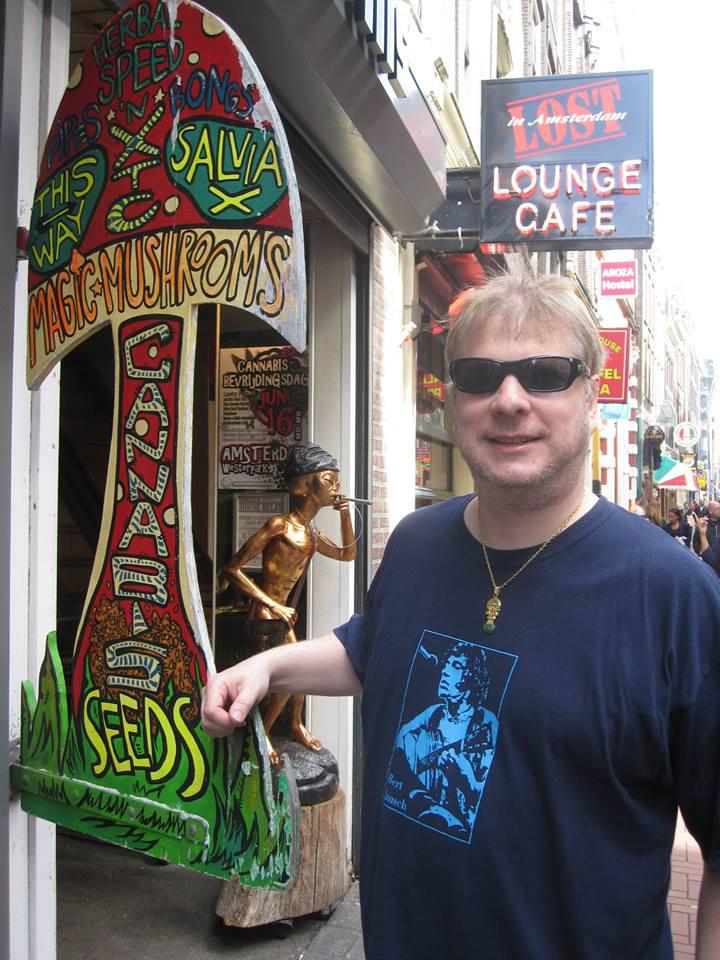 Chris Bovey in Amsterdam.