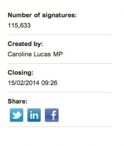 Petition by Green MP, Caroline Lucas, passes necessary 100k threshold to force backbench MPs to discuss drugs policy in the UK.
