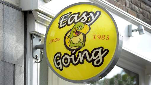 Easy Going Coffeeshop in Maastricht.