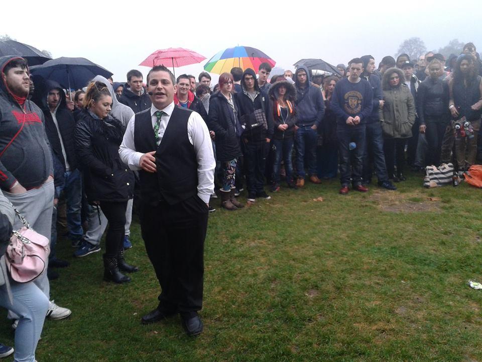 Hyde Park cannabis protest Stuart Harper