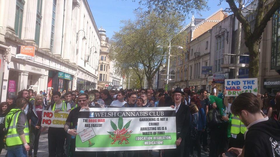 Cardiff Global Cannabis March 2014
