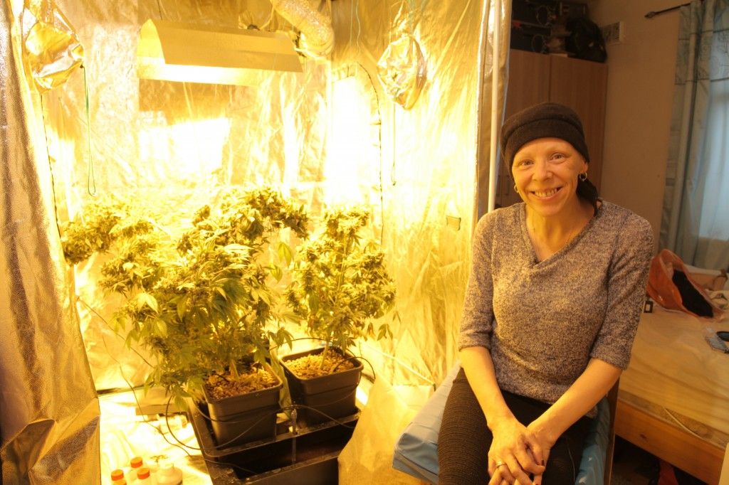 Anne with her grow speakers blog