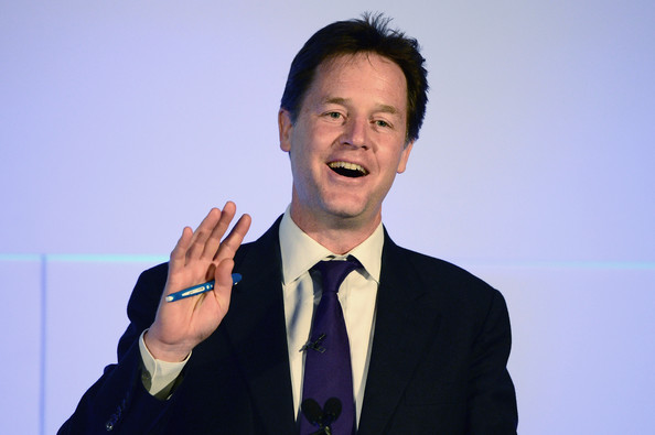 Nick Clegg Leader of the Lib Dems