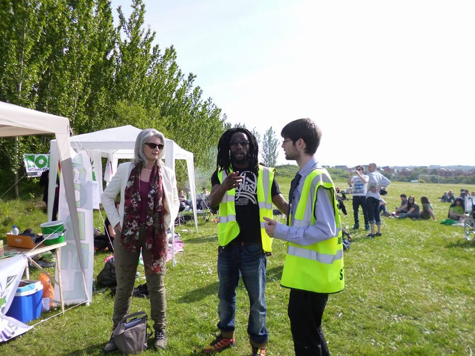 Richard Smith from Cardiff Cannabis Social Club talks to Pippa Bartolotti, Leader of the Welsh Green Party.