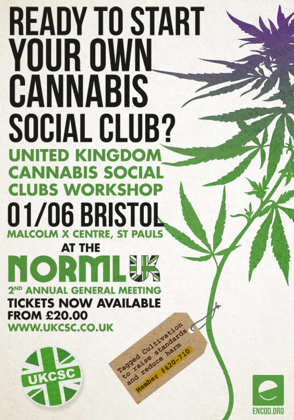 UK Cannabis Social Club workshop