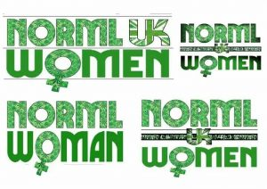 Previous logo ideas for NORML UK Women´s Alliance