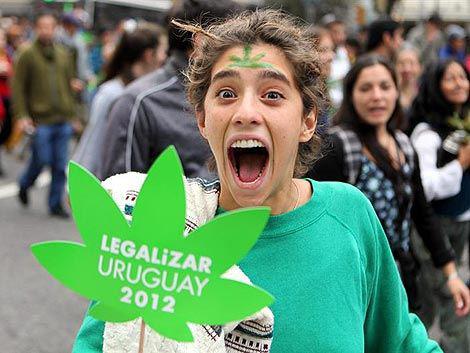 Legalise marijuana Uruguay