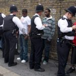 Stop and search at Notting Hill carnival