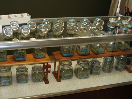 Cannabis dispensary in Coloarado