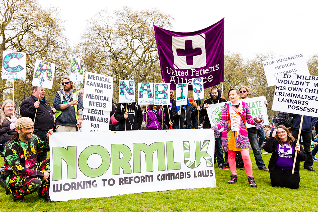 Hyde Park Cannabis Rally 19.04.2015