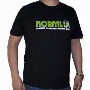 NORML UK - T-Shirt Organic Cotton